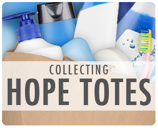 Thanks for providing a Hope & Care Tote!