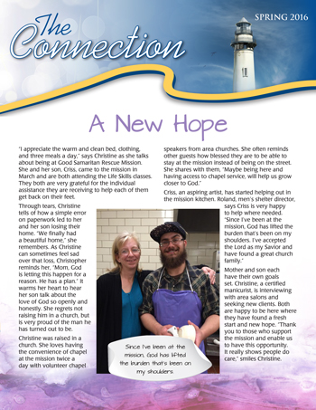 Good Samaritan Rescue Mission Newsletter