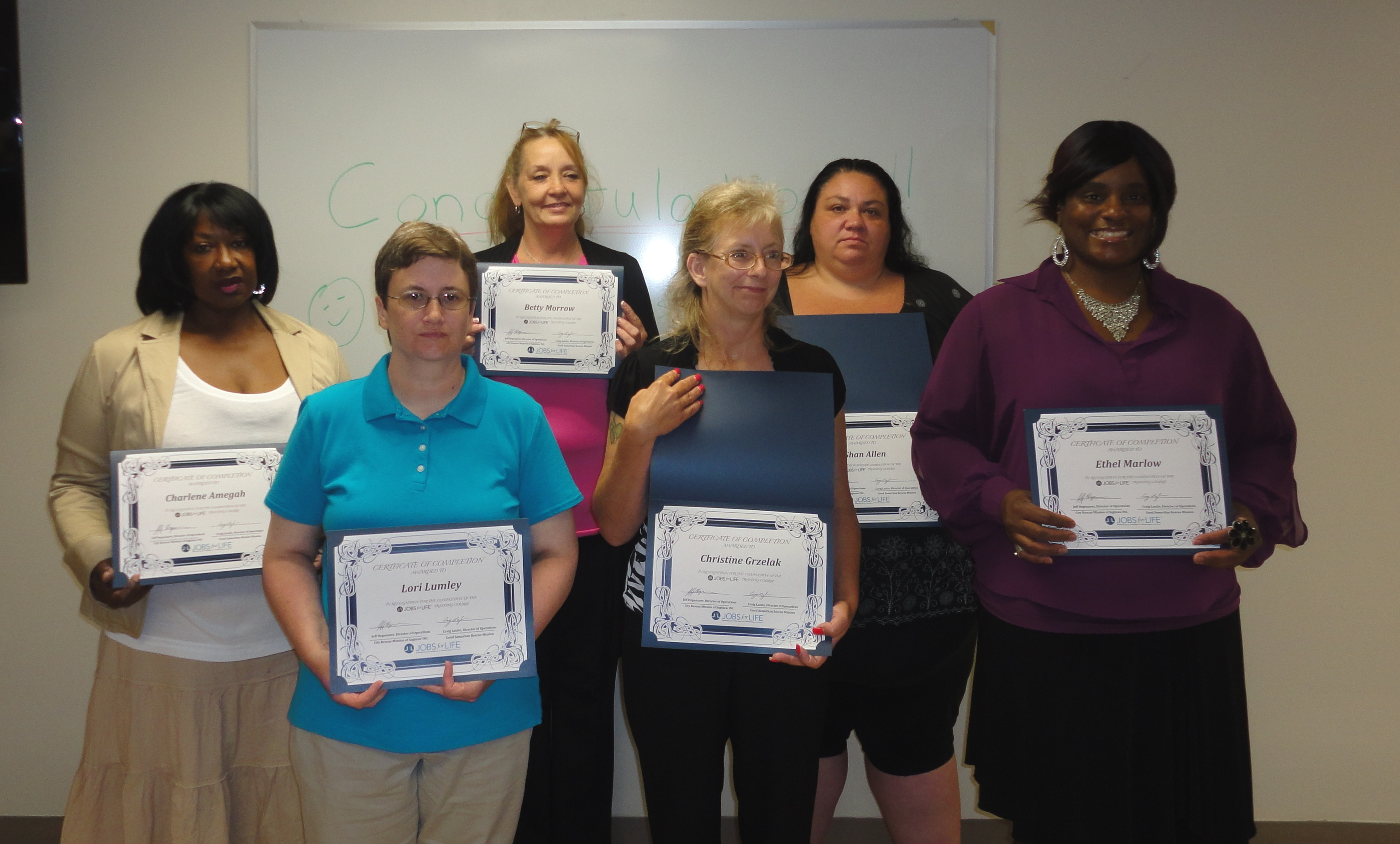 7-2016 female grad class